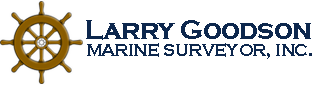 Larry Goodson, Marine Surveyor, Inc. Logo